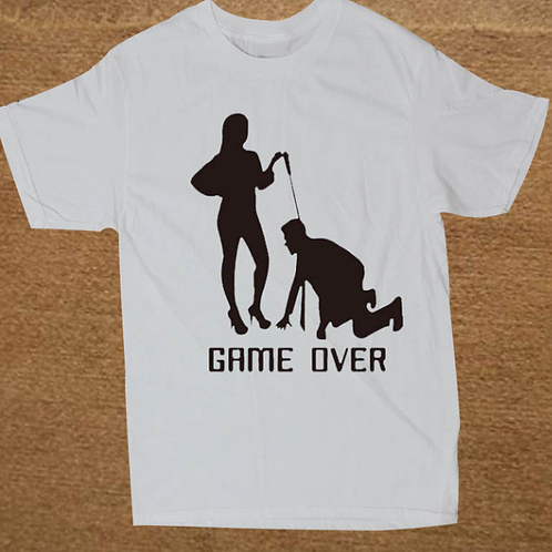 Game over shirt by DK