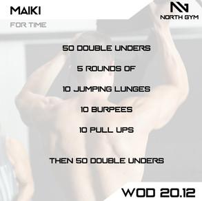North Gym Weight Vest WOD Card 20.12.JPG