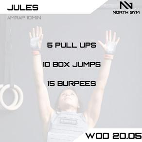 North Gym Weight Vest WOD Card 20.05.JPG