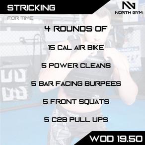 North Gym Weight Vest WOD Card 19.50.JPG