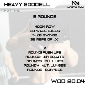 North Gym Weight Vest WOD Card 20.04.JPG