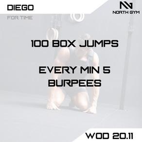 North Gym Weight Vest WOD Card 20.11.JPG