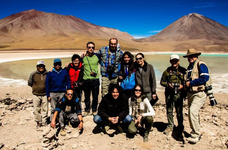 Foto capturada por Daniela Viscarra en uno de nuestros primeros viajes turisticos fotograficos, lindo grupo!