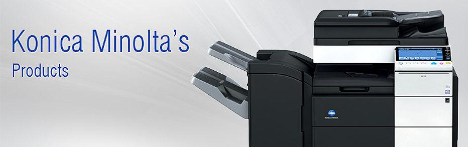 New Konica Minolta copiers