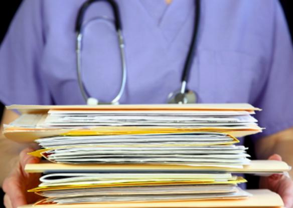 healthcare paperwork