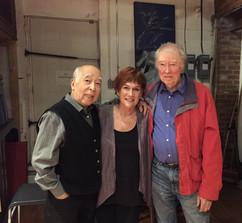 With Nobuo Kubota & Michael Snow