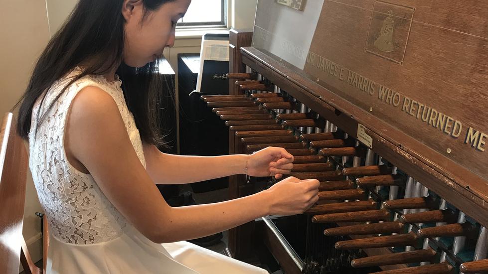 Zoe at the Carillon