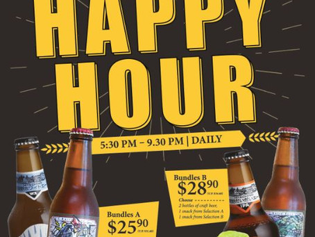 Exclusive! Saboten Happy Hour Beer Bundles Promotion