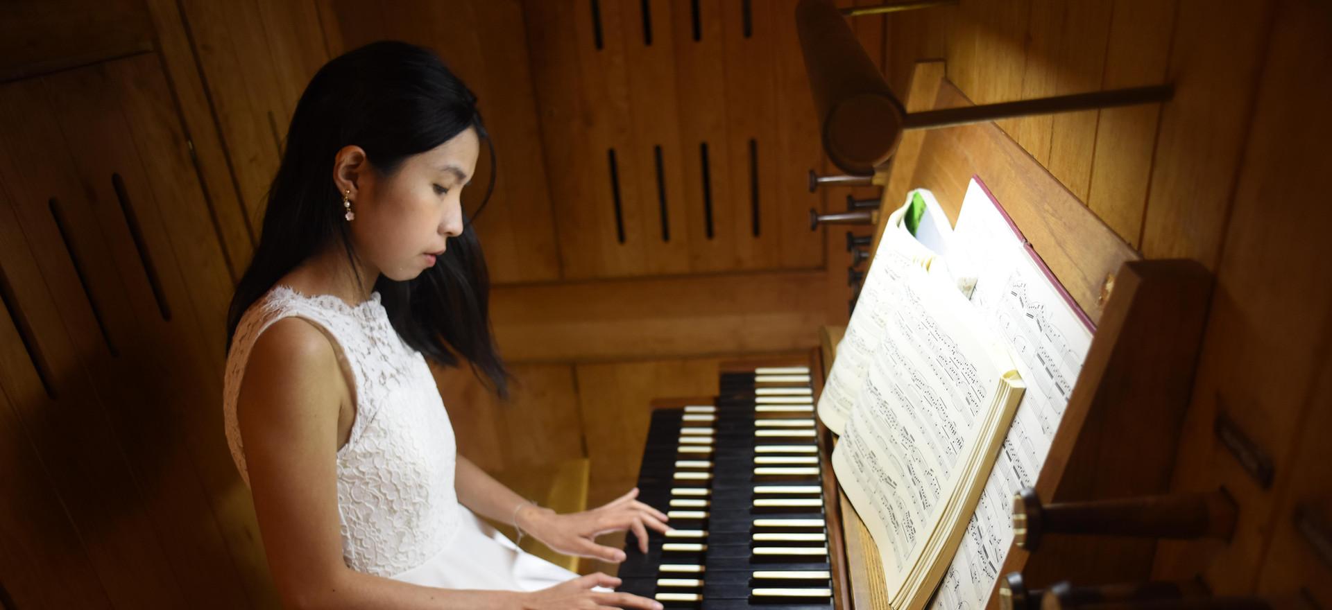 Zoe Lei at Walter Hall