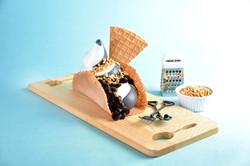 Japanese waffle ice cream