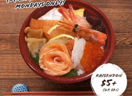 Monday Kaisendon & Sushi Promotion