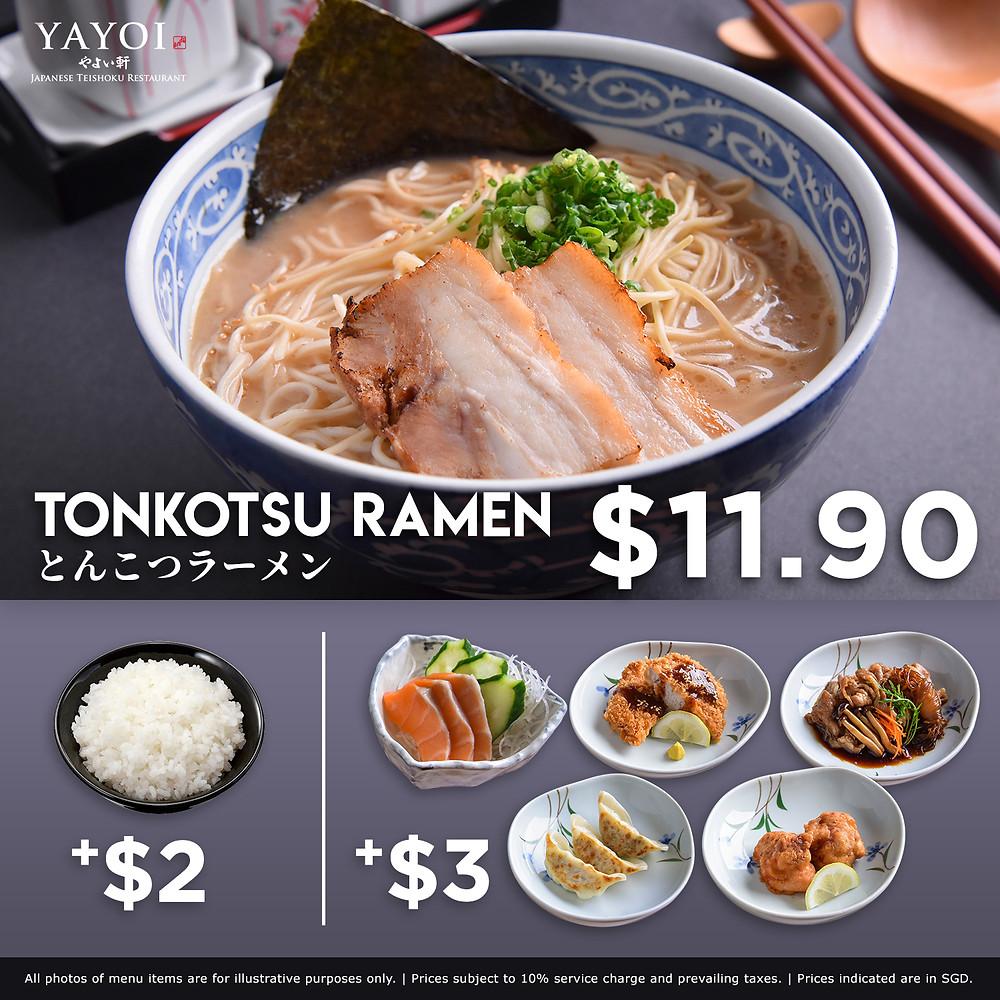 YAYOI Tonkotsu Ramen