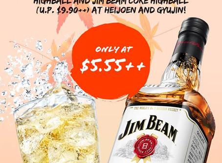 Jim Beam Highball Promotion!