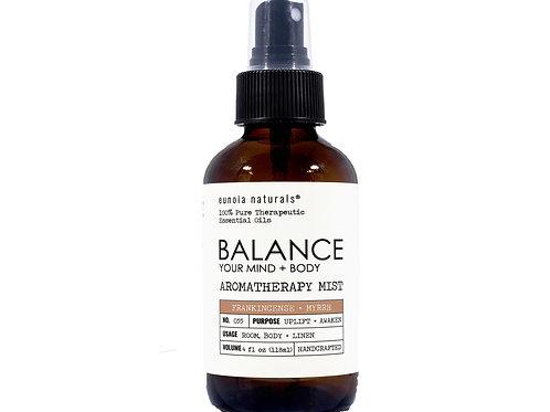 BALANCE- Frankincense + Myrrh Mist
