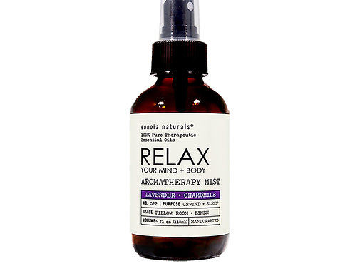 RELAX- Lavender + Chamomile Mist