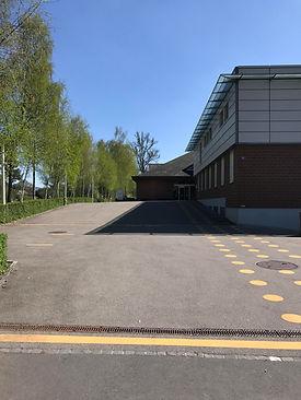 Hauptgebäude Schulhaus Maurerschule
