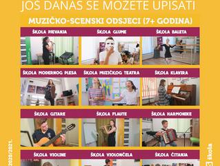 UPIS U ZIMSKI SEMESTAR školske 2020/20201. godine