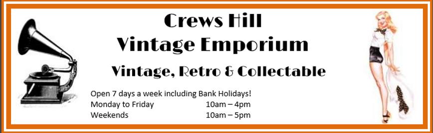 Crews Hill Vintage Emporium opening times