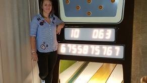 Bahnrekord der Damen - 63 Punkte - Rita Mieck