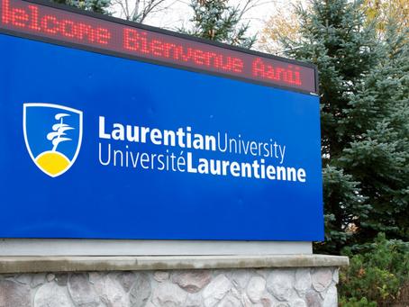Statement on Crisis at Laurentian University