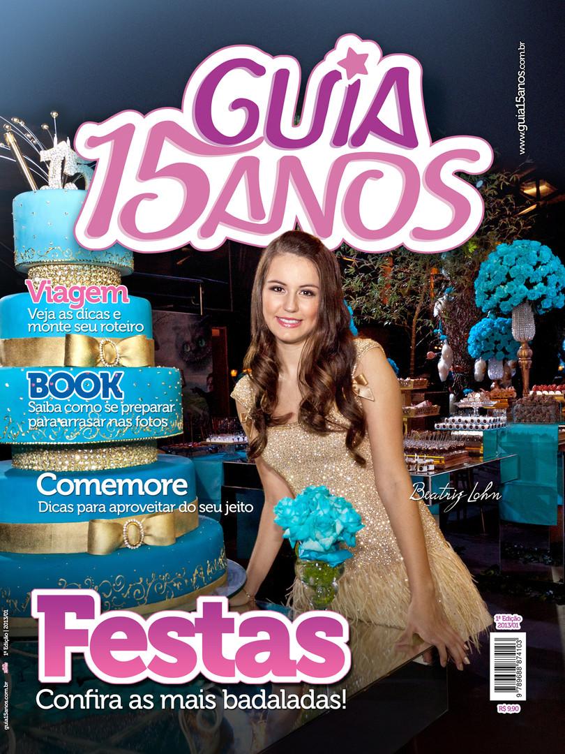 Revista Guia 15 Anos (capa) - 1ª edição