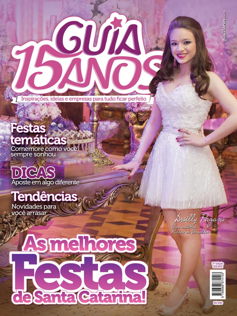 Revista Guia 15 Anos (capa) - 2ª edição