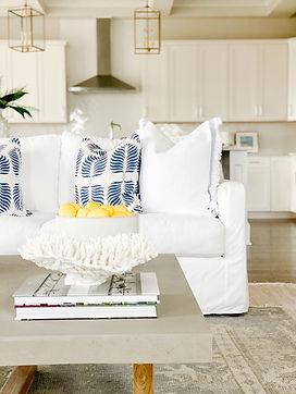 A Coastal Living Room Transformation
