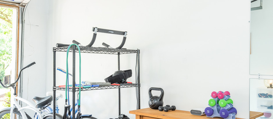 Turning a Garage into a Home Gym