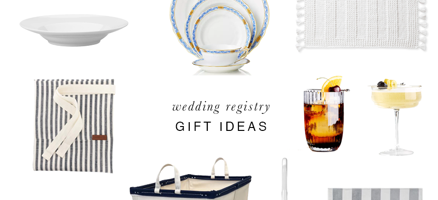 Wedding Registry Gift Ideas