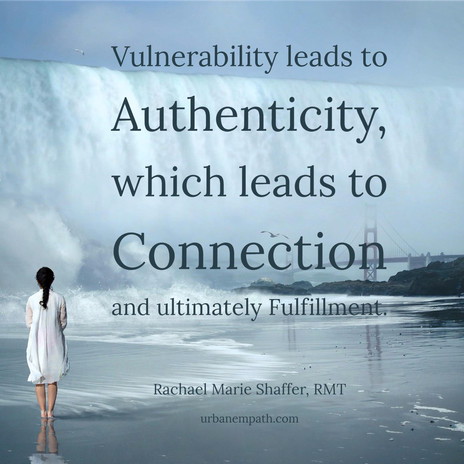 A Willingness to Be Vulnerable