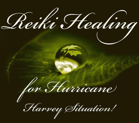 *Reiki for Hurricane Harvey Situation*