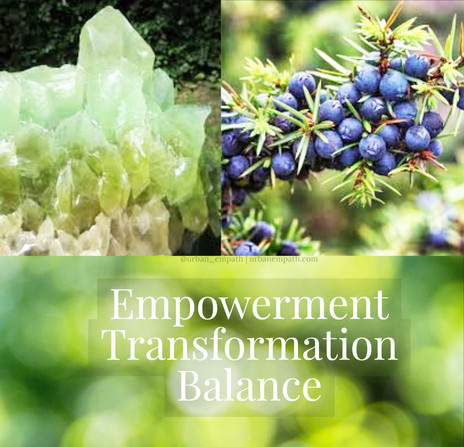 🌹🍃💎 Essential Oil & Crystal of the Day for July 11th, 2018!