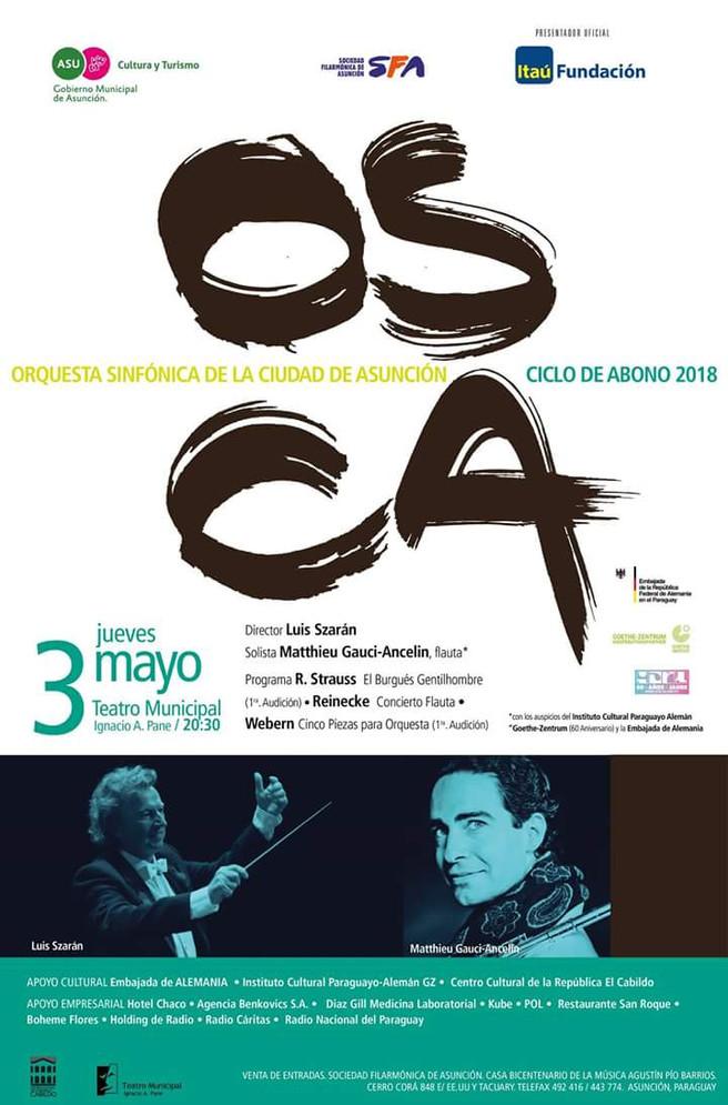 Concert on 3rd Mai inAsunción