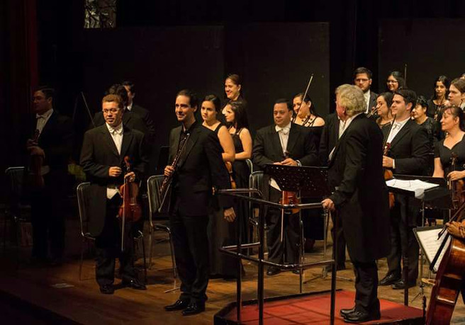 Concert in Asunción with OSCA and Luis Szarán