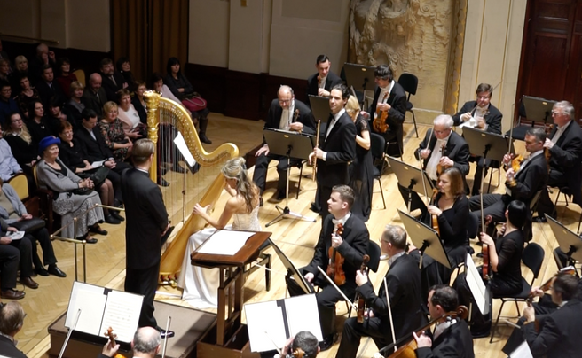 Mozart concertos withPietari Inkinen, Katerina Englichova and Prag Symphony Orchestra