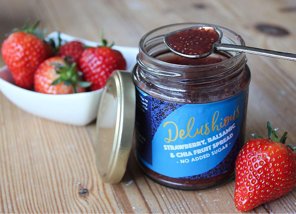 Strawberry Balsamic and Chia Fruit Spread
