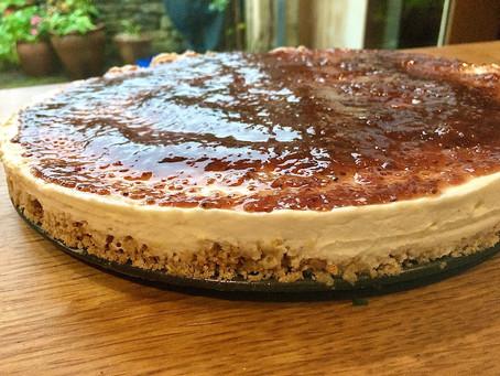 No Bake, Sugar Free Cheesecake