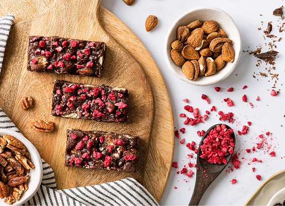 Sour Cherry Tiffin (15 cake pack)
