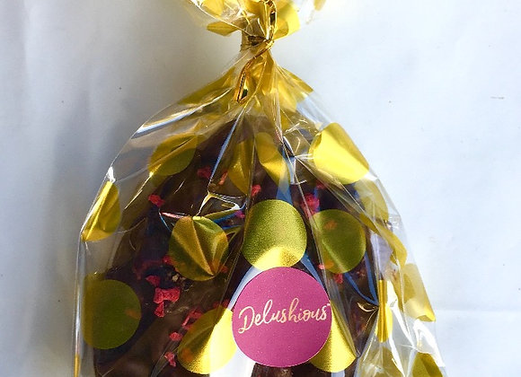 Sour Cherry Chocolate Easter Egg