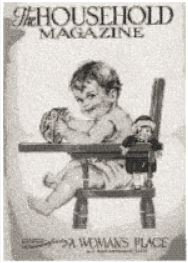 the household magazine cover c.1928