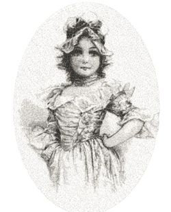 young girl c.1800