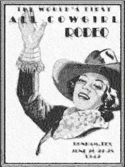 all cowgirl rodeo
