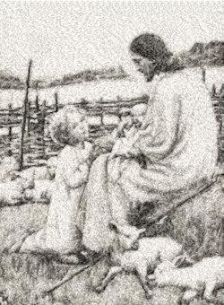 Jesus with child (free)