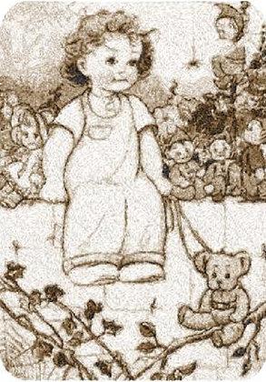 walking teddy