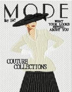 model magazine c.1947