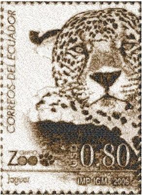 vintage stamp 2951