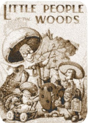 little people in the woods