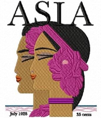 asia cover c.1928