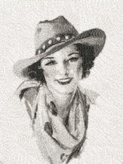 western woman c.1933