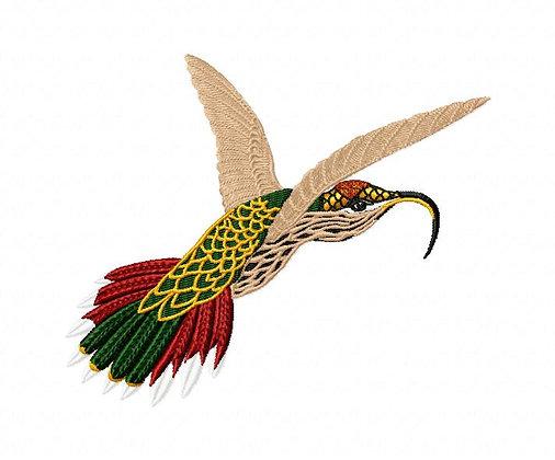 hummingbirds 5 x 7